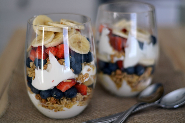 got de iogurt amb fruites i cereals