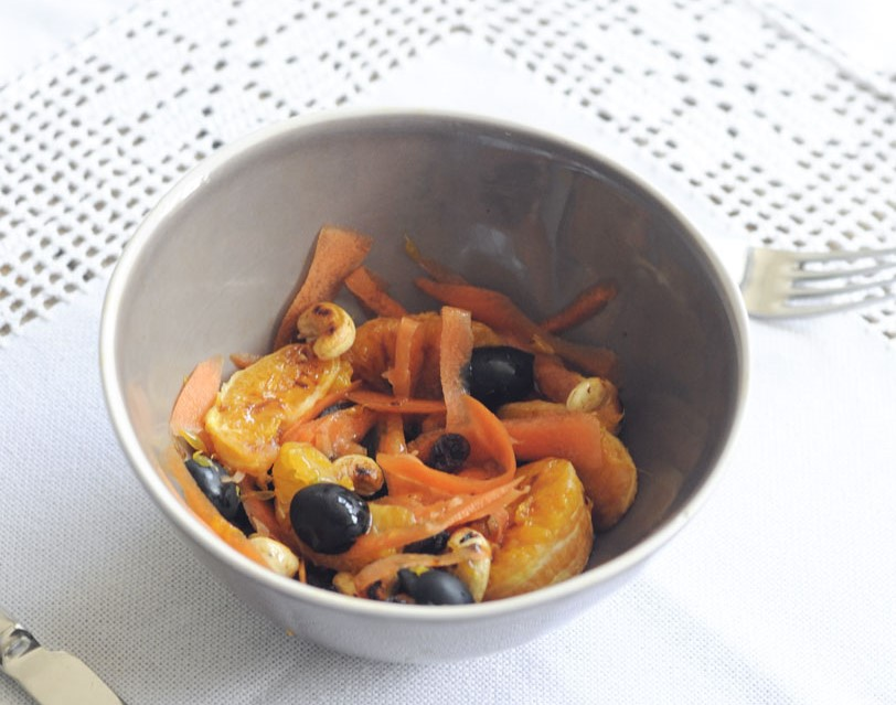 les taronges als teus plats